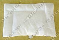 Новогодний подарок до 100 грн. - детская подушка для новорожденных 40х60 белая