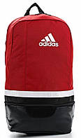 Практичный стильный рюкзак, молодежный Adidas TIRO BP S13311 красный с черным
