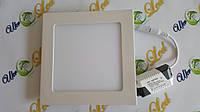 Светодиодный светильник 12Вт, СW (врезной)