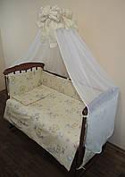 Детская постель в кроватку 8 единиц