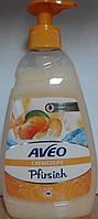 Жидкое крем - мыло Aveo Pfirsich