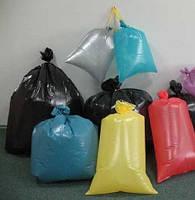 Полиэтиленовые мешки цветные
