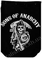 """SONS OF ANARCHY (сериал """"Сыны анархии"""") - рок-рюкзак"""