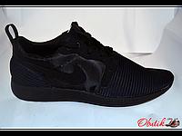 Кроссовки мужские Nike летние сетка черный логотип NI0018