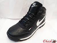 Кроссовки мужские зимние высокие Nike на меху NI0037