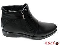 Ботинки мужские зимние классические Karat кожаные на меху Ka0001