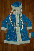 Снегурочка карнавальный ,Новогодний костюм для девочки