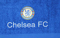 Полотенце лицевое с символикой FC Chelsea