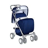 Детская коляска Bertoni Aero Blue с чехлом