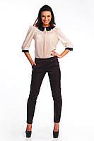 Женские стильные брюки средней посадки, фото 1