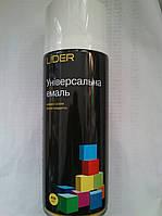 Аэрозольная краска Lider Ral 9010 (Белый Глянец) 400мл