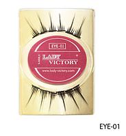 Профессиональные накладные ресницы на половину века Lady Victory LDV EYE-01 /0-1