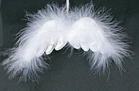 Елочное украшение Крылья ангела, 12 см