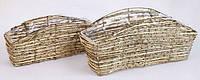 Набор корзинок из ратана (2), 32см, 39см