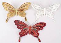 Декоративная бабочка, 23см