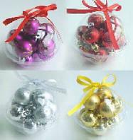 Набор пластиковых шаров (12), 3см