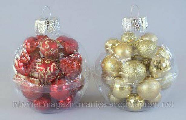 Набор пластиковых шаров (22), 4см и 5см
