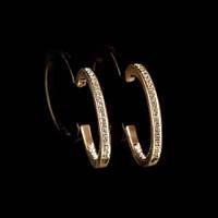 Серьги кольца бижутерия Замбези