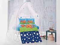Постельное белье в детскую кроватку Хлопок (TM Clasy) Sevimli, Турция