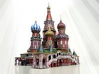 Коллекционный 3D пазл  «Собор Василия Блаженного» 393 дет.