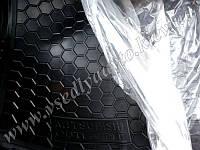 Коврик в багажник MITSUBISHI Outlander 2012 г. с органайзером (AVTO-GUMM) пластик+резина