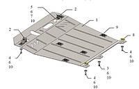 Защита поддона картера CITROEN C4 Aircross (Ситроен)
