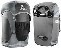 Мужской удобный рюкзак для велосипедных гонок Deuter Rack Pack LR 32458 7410 серый