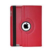 Чехол Smart Cover для iPad 2/3/4 с поворотом на 360 градусов - красный цвет