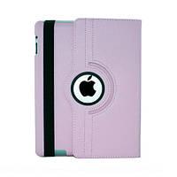 Чехол Smart Cover для iPad 2/3/4 с поворотом на 360 градусов - розовый цвет