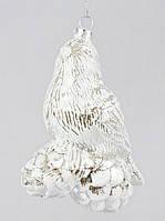 Елочная игрушка Птичка на шишках, 11.8см