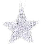 Набор (2 ) елочных  украшений Звезда