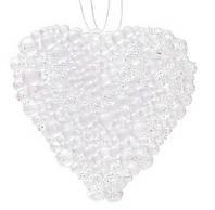 Набор (2 ) елочных украшений Сердце