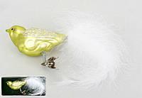 Елочная игрушка Птица, 16см