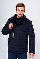Мужская зимняя куртка косуха на меху