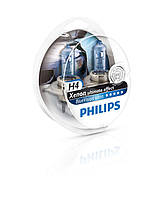 Philips H4 Blue Vision ultra+W5W 12V 60/55W P43t-38 (12342 BVU KIT)