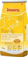 Josera Family 15кг-корм для щенков всех пород от 2месяцев