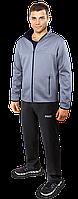 Спортивный костюм F50 - светло-серый черный