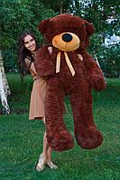 Большой медведь тедди 180 см шоколадный