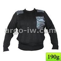Свитер +с накладками,свитер мужской.свитер нато.свитер под галстук.свитер для армии.армейский свитер.