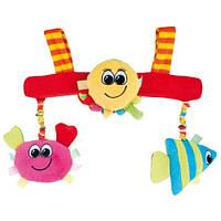 Игрушка мягкая для коляски Цветной океан Canpol 68/012