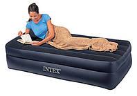 Односпальная надувная кровать Intex 66721 (99х191х47 см.)