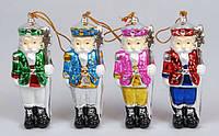 Новогодняя статуэтка-подвеска Щелкунчик, 11.4см