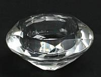 Подсвечник с форме кристалла, 7см