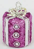 Елочное украшение Подарок, 11см