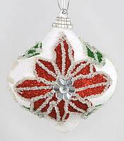 Елочное украшение в форме луковицы, 8см