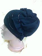 Эксклюзивная женская шапка  необычного дизайна