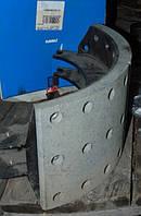Колодка тормозная в сборе КАМАЗ 6520 Евро-2 (по-во КамАЗ)