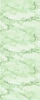 Панель пластик лак облака зелёные 6,0 м*0,25 м*8 мм
