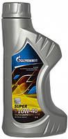 Масло Газпромнефть Супер 10W40 (API SG/CD) 1л. полусинтетика