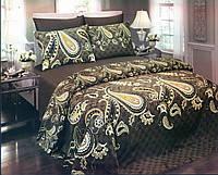 Комплект постельный подарочный евро сатин